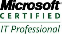 Microsoft Certified IT Professional Certification Badge
